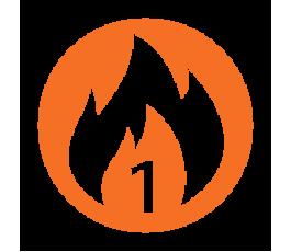 1 Hour Fire Rated, Beaded Frame, Plasterboard Door, & Budget Lock
