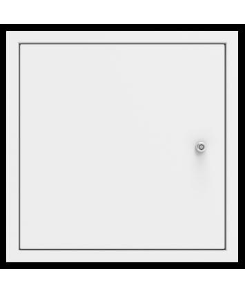 1 Hour Fire Rated, Picture Frame, Metal Door, & Security Lock