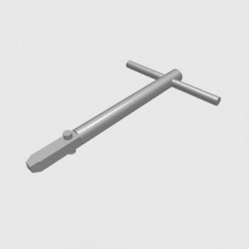 Metal 3 Point Lock Key