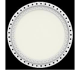 Circular Non Fire Rated, Beaded Frame, Plasterboard Door, & Twist Lock