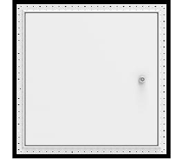 Non Fire Rated, Beaded Frame, Metal Door, & Security Lock