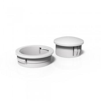 White Plastic Collar & Bung Set (MD/BL)